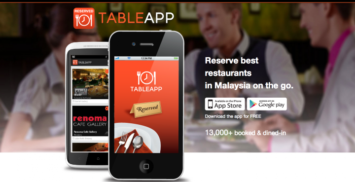 TableApp Raises To Expand Into Penang And Johor Bahru - Restaurant table app