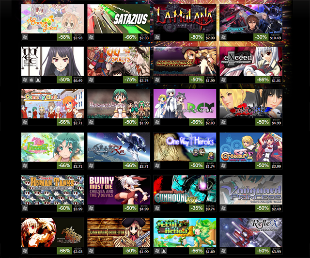 Steam Offers Discounted Japanese Indie Games In Celebration Of