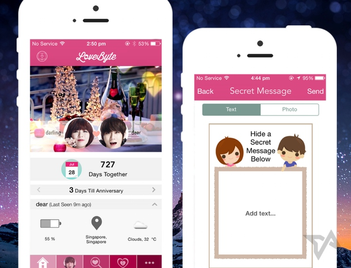 LoveByte adds new lovey-dovey features as couples messaging app reaches 700k users
