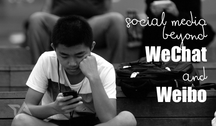 Social media in China beyond WeChat and Weibo