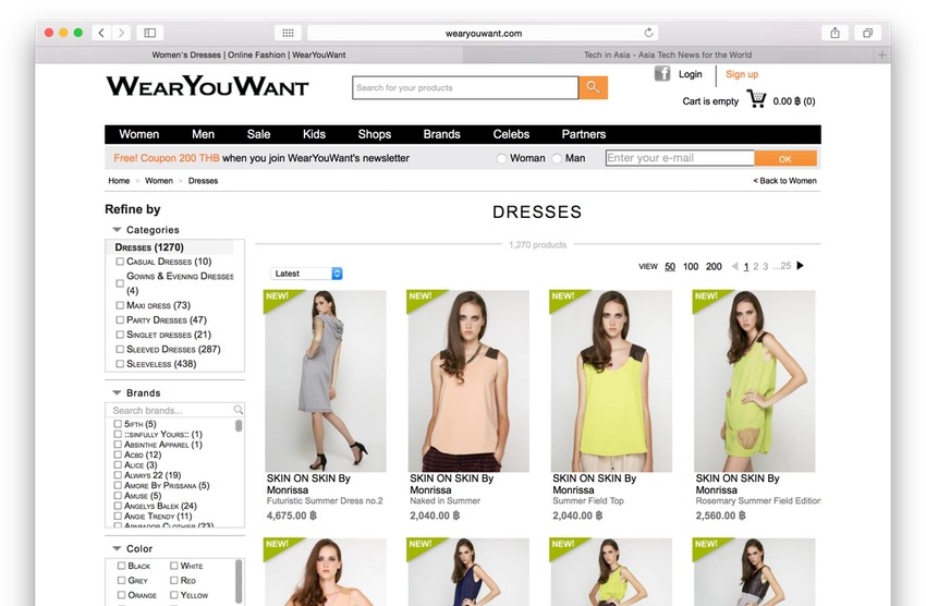 WearYouWant gets $1.5M funding to expand fashion estore from Thailand to Southeast Asia