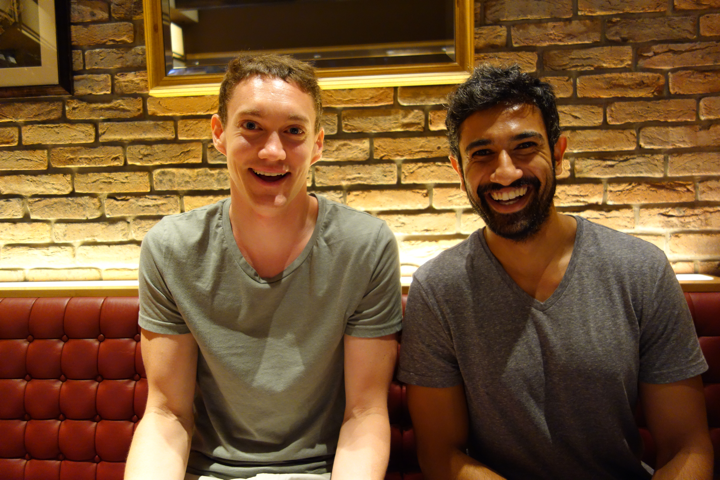 Co-founders Ryan Rowe (l) and Pratap Ranade (r)