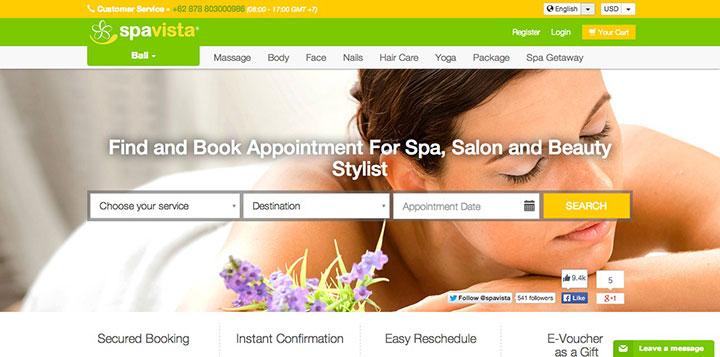 spavista-website