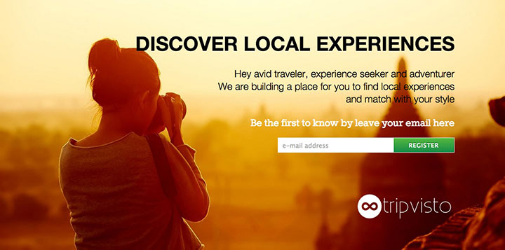 Tripvisto-website