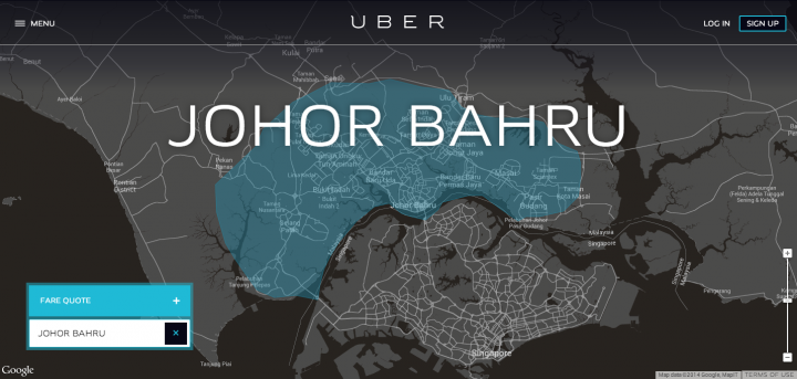 Uber has secretly arrived in Johor Bahru with free rides in hand