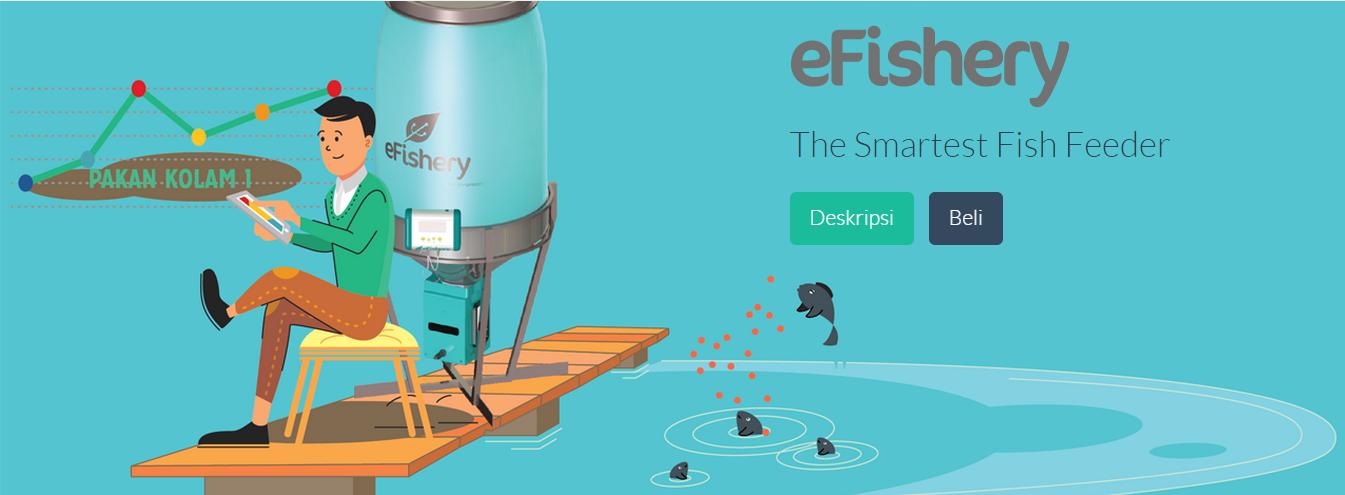 eFishery lets farmers sense fish's appetites via smartphone