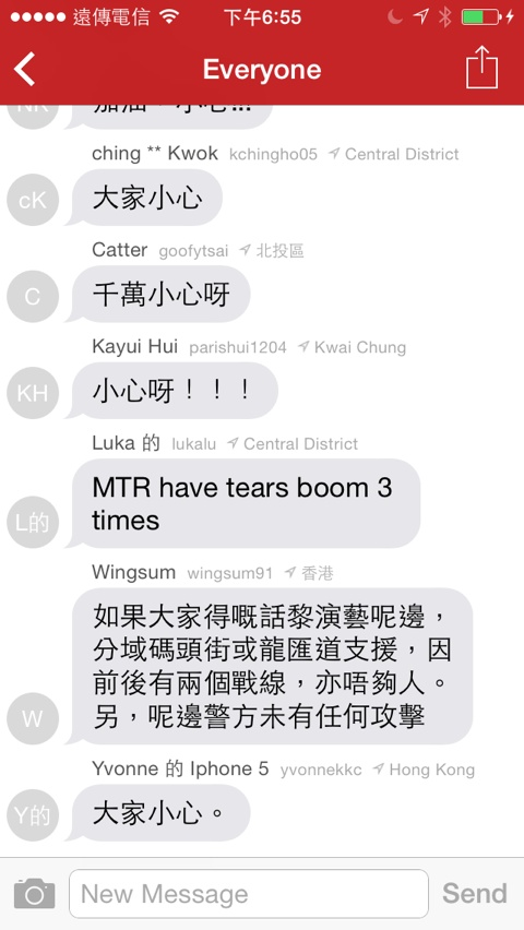 Messaging app FireChat flares up in Hong Kong amid protests