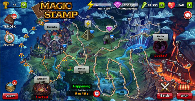Appota has released magic stamps a new way to play card games map gumiabroncs Gallery