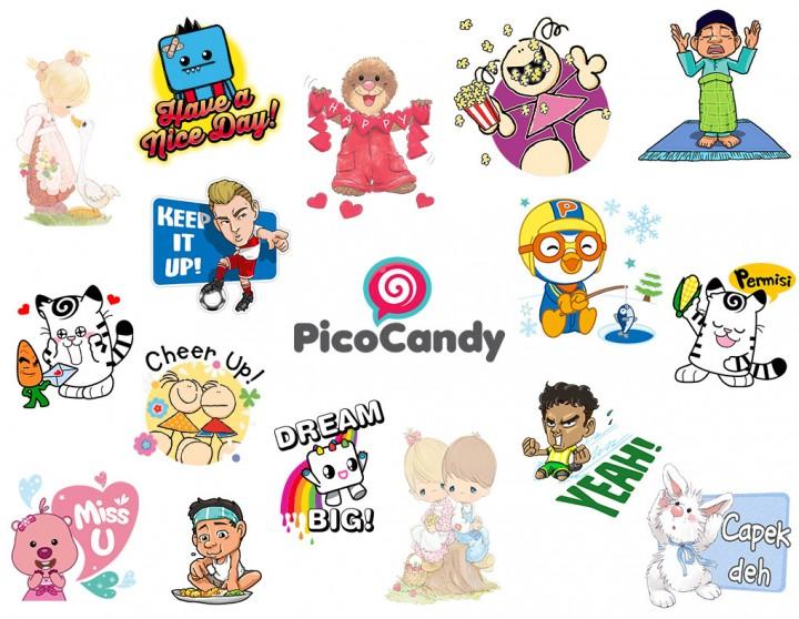 Picocandy indo stickers