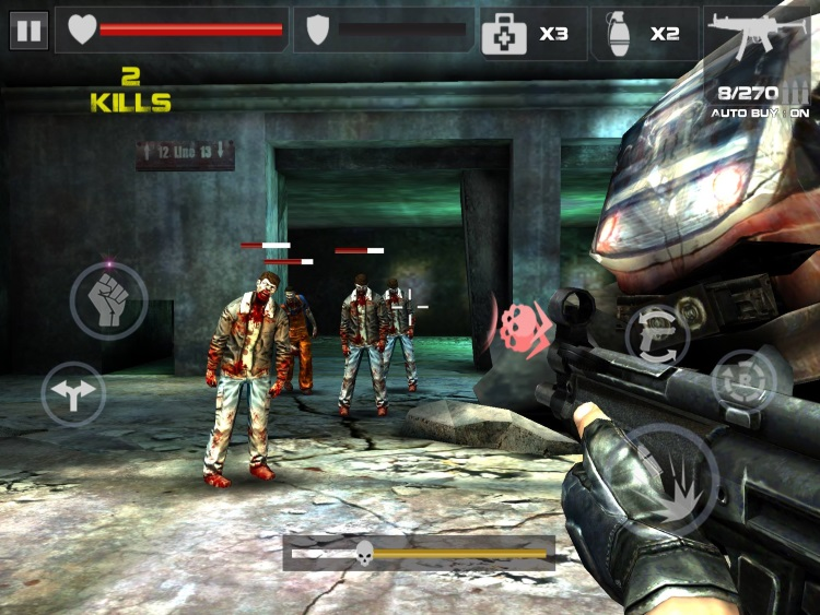cool zombie shooting games