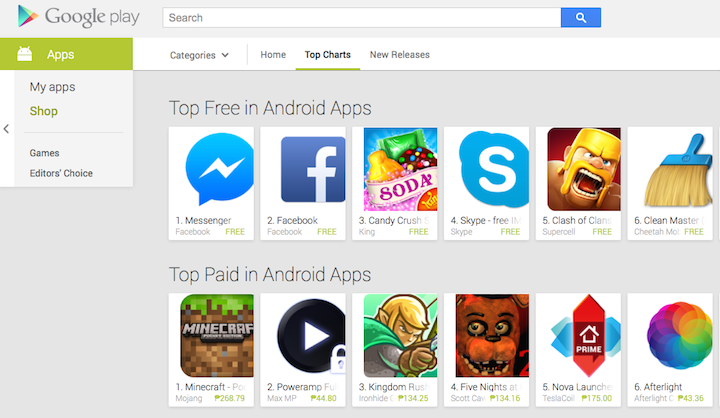 Smart users in the Philippines may now charge Google Play buys direct to bill