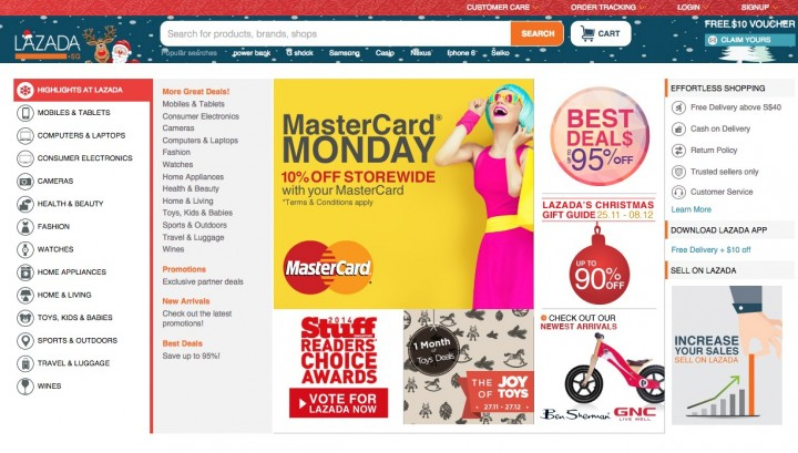 Endless array of products on Lazada Malaysia