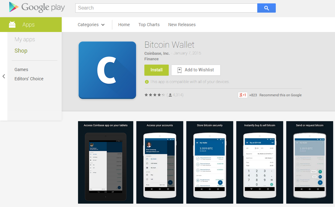 I just bought my first bitcoin heres what i learned bitcoin wallet android apps on google play ccuart Choice Image