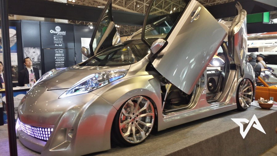Pimp My Prius Modded Hybrids And Electric Cars On The Rise In Japan - Pimped out cars