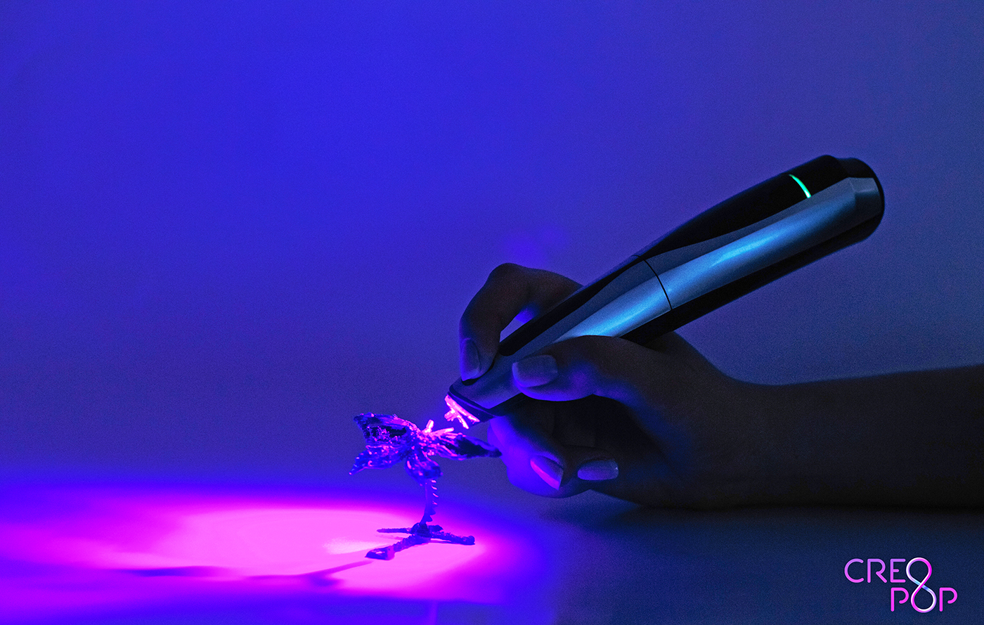 Singapore's CreoPop raises seed funding round for its 3D printing pen