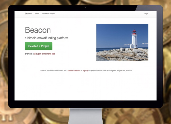 Beacon is a Kickstarter-meets-Groupon site that helps you