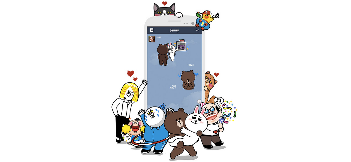 Line is the world's top-earning app publisher outside gaming