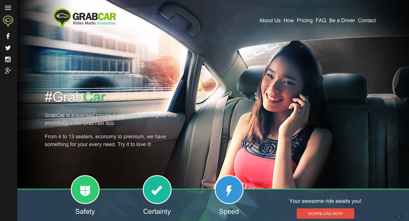 Grabcar Launches New Chauffeured Options In Singapore