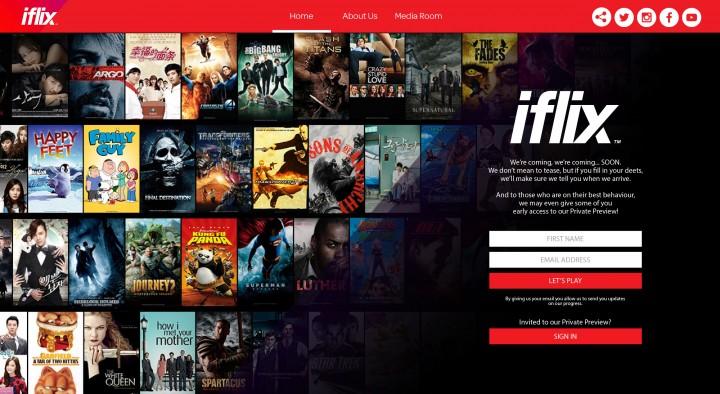 iflix homepage