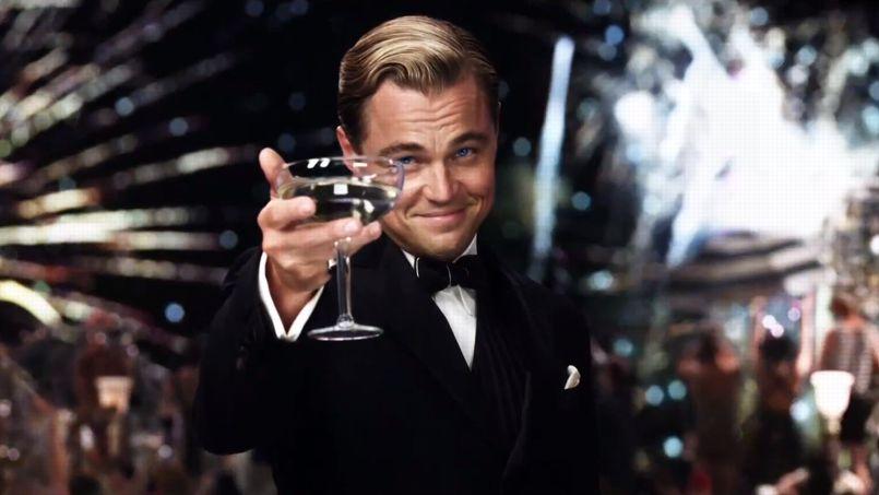 leonardo di caprio raising a toast Toost