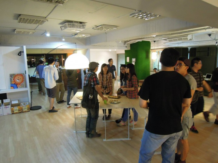 CreativAsia Space 1 - Taiwan co-working space