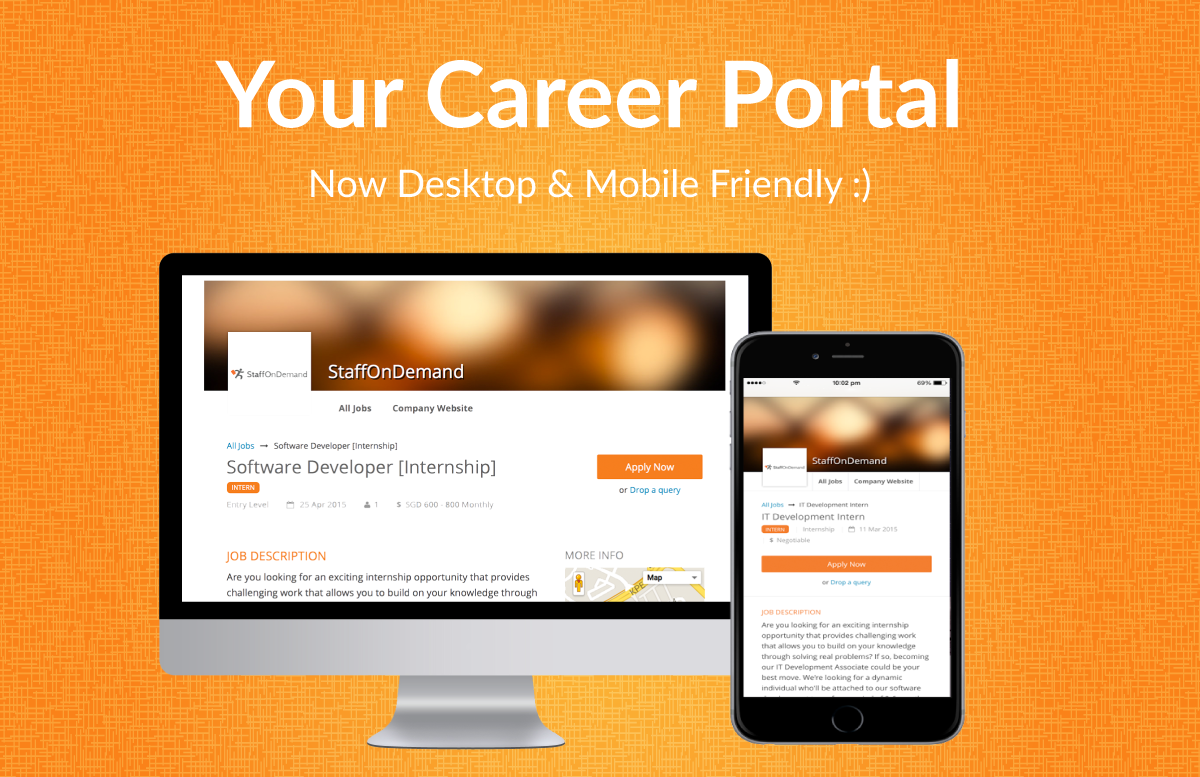 mobile friendly_career_portal staffondemand