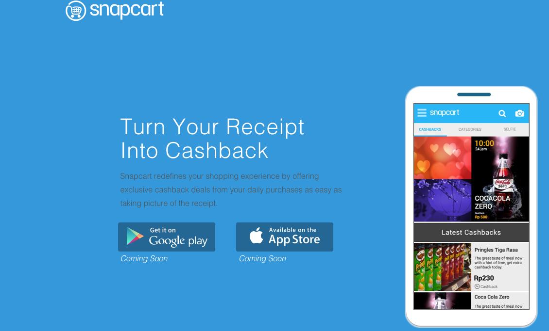snapcart screen 1