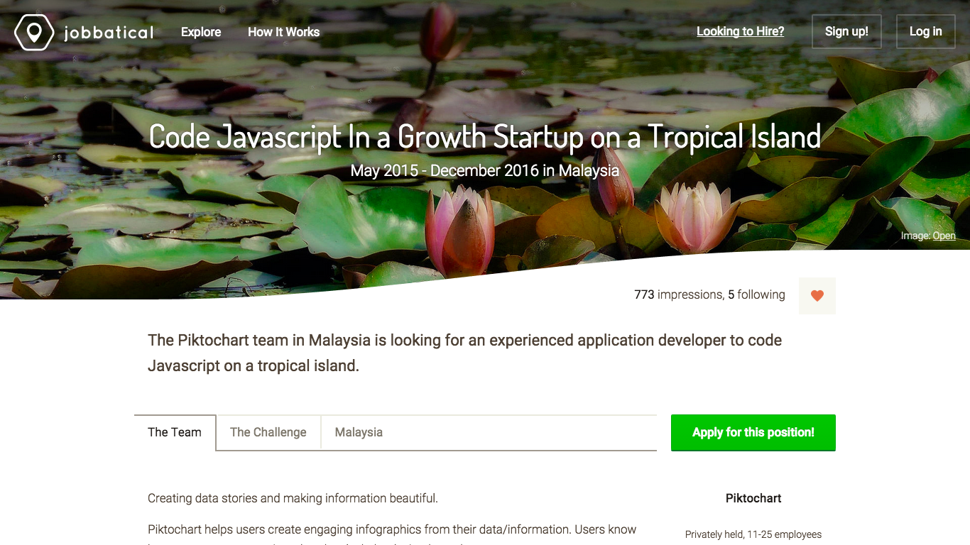 jobbatical is a jobs site for globetrotting tech talent jobbatical ss