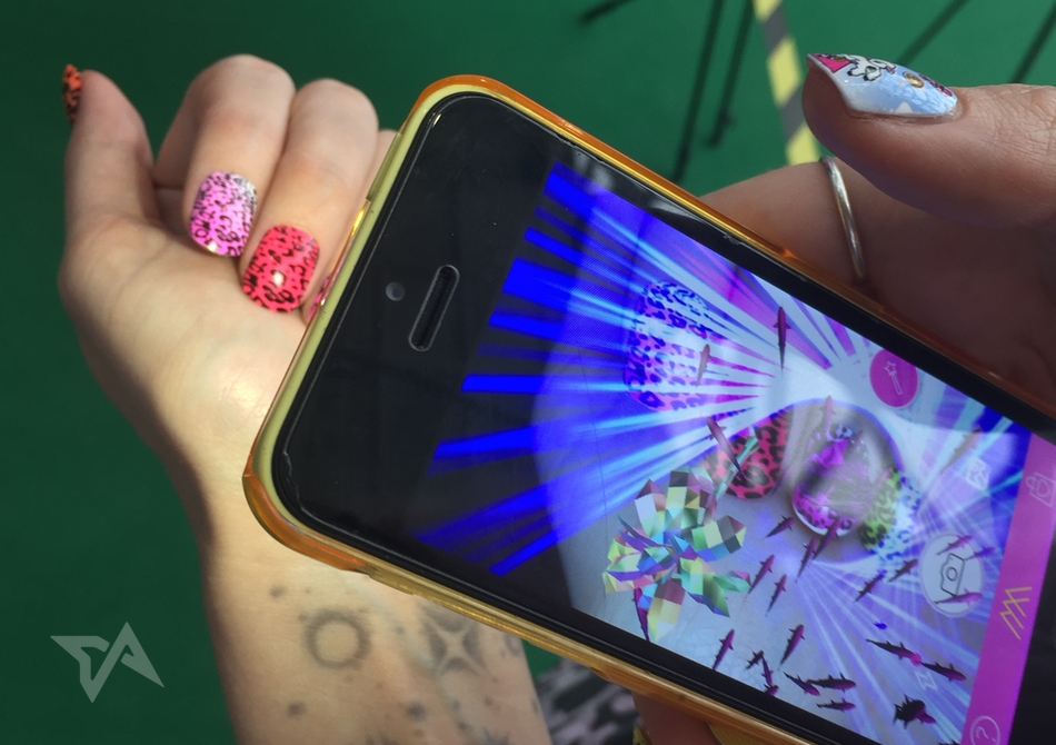 Nail art meets augmented reality in this new app
