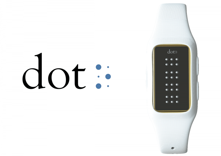 Korean Startup Dot Made The First Smartwatch For The Blind