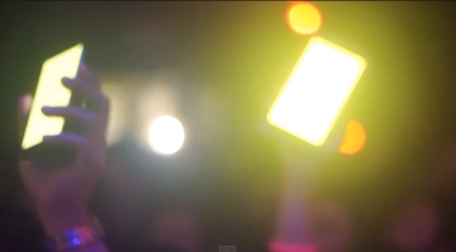 Forget Glow Sticks Phones Will Soon Light Up Concerts