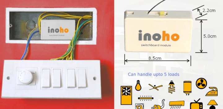 Inoho, an Indian startup providing IoT for home automation