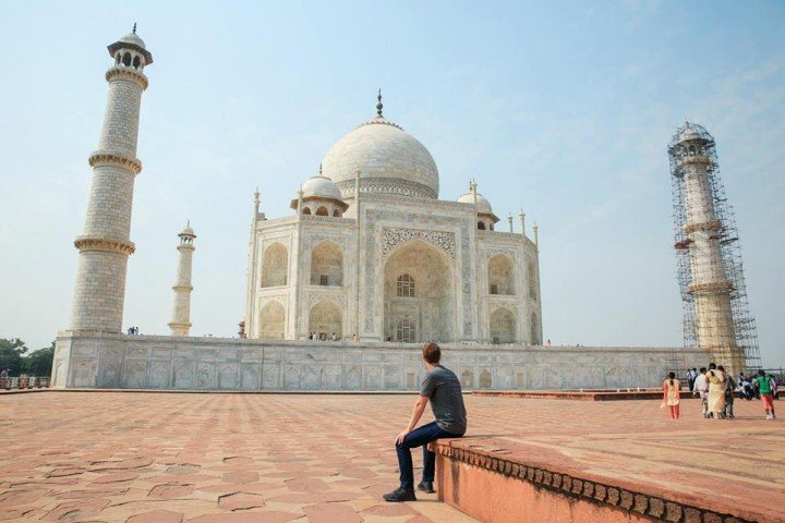 facebook mark zuckerberg in india