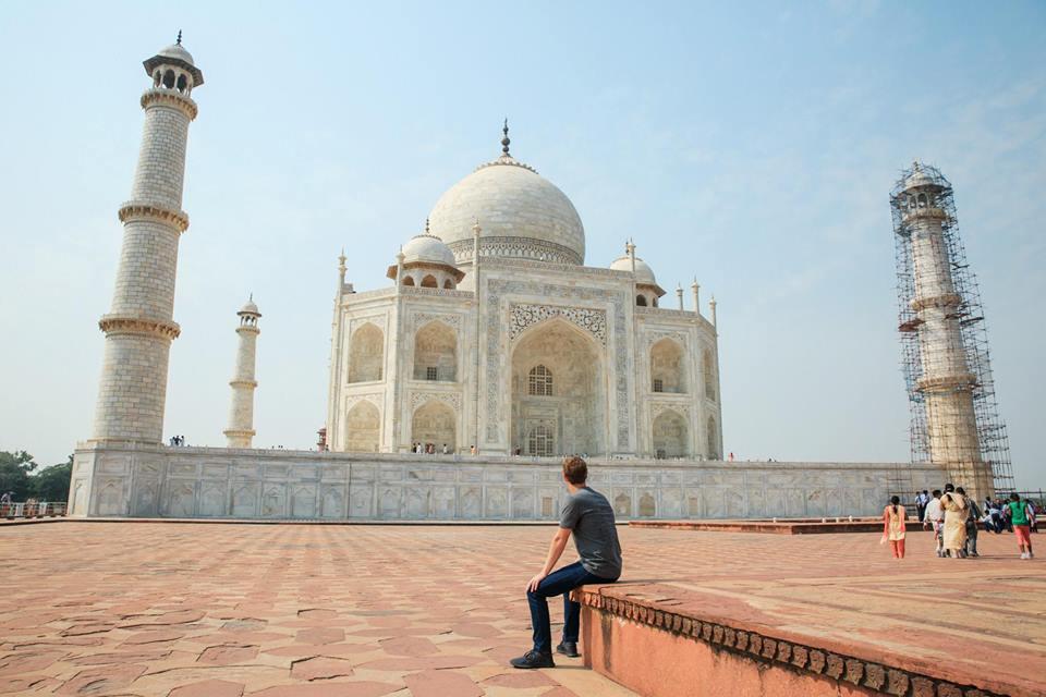 facebook mark zuckerberg in india