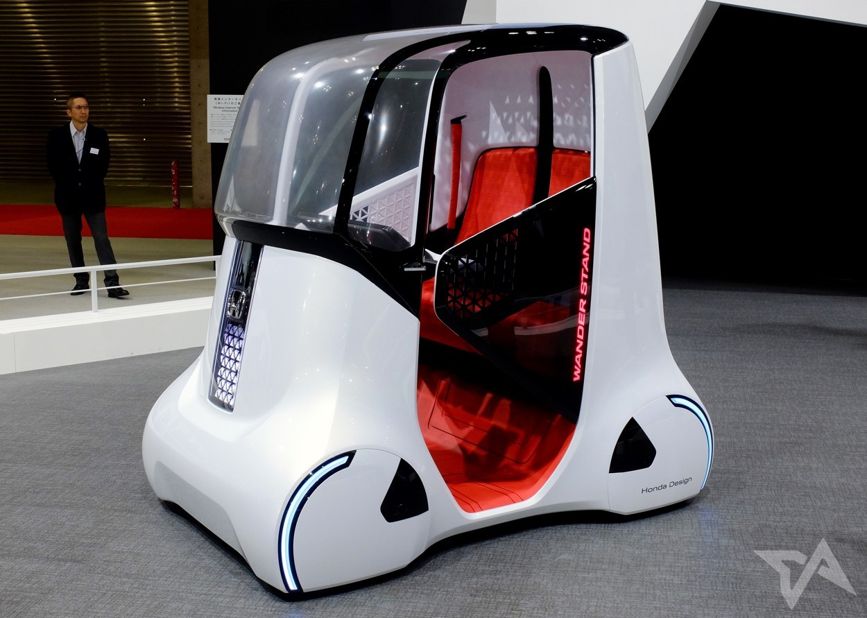 Perfect 5 Crazy Innovative Concept Vehicles At Tokyo Motor Show