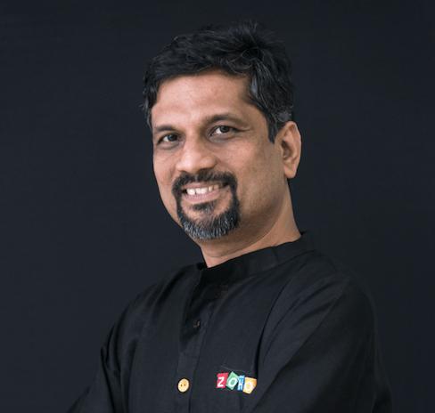 I Am Sridhar Vembu Founder And Ceo Of Zoho Corp Ama