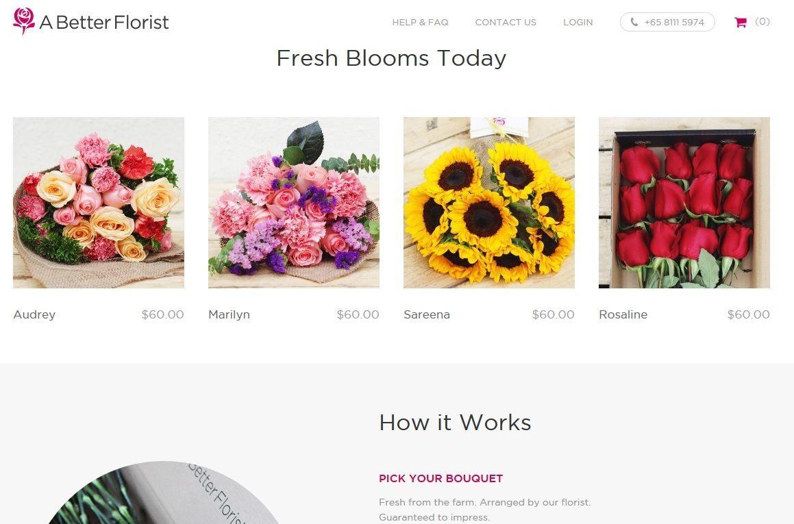 A Better Florist Is A Better Flower Ecommerce Service