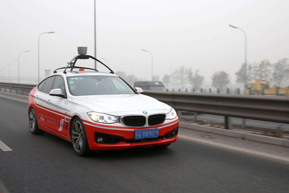 China zooms closer to driverless future as Baidu hits the road with autonomous car