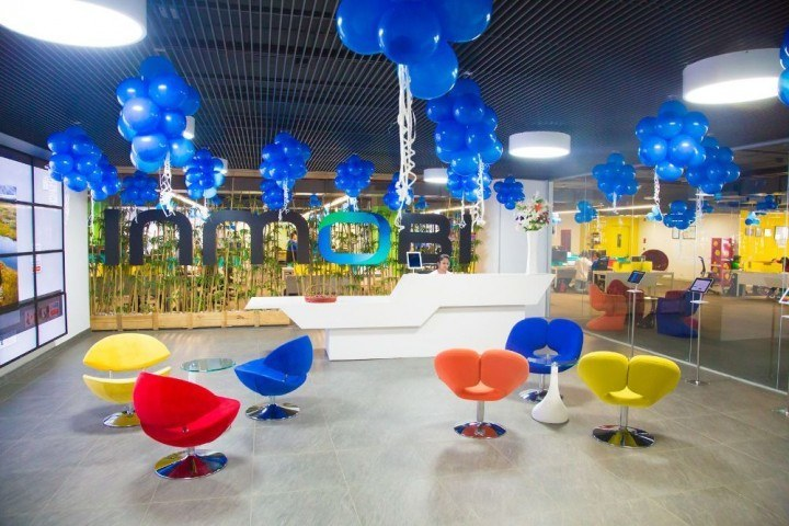 InMobi has one of the most colorful offices in the region