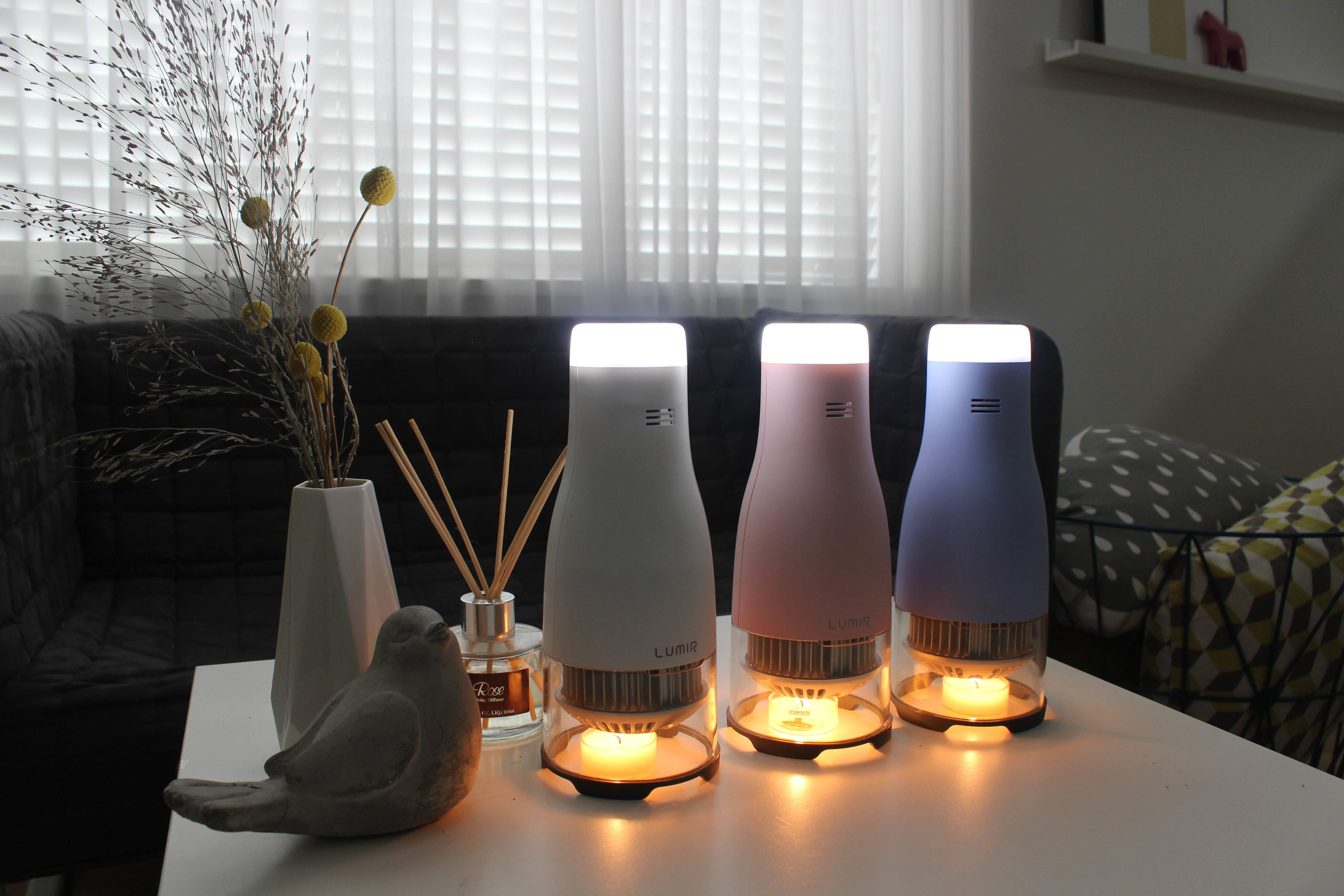 Led night light kickstarter - The Lumir C Mood Available On Kickstarter Emits An Ambient Led Glow 15 Times