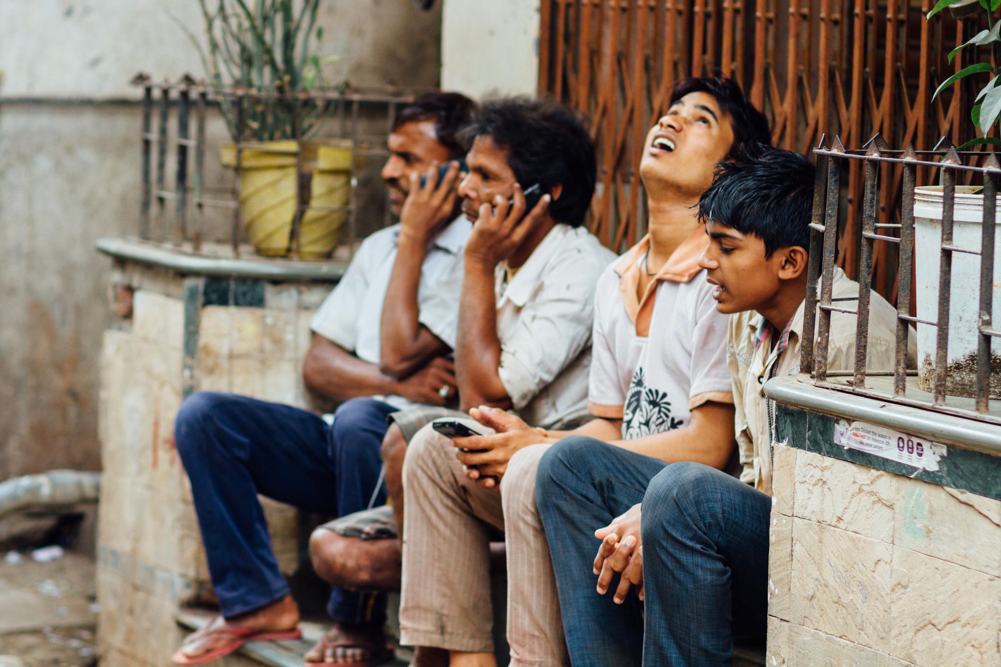 India's new smartphone buyers. Photo credit: Adam Cohn.