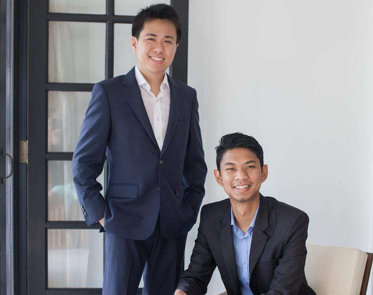 TheLorry co-founders Goh Chee Hau and Nadhir Ashafiq.