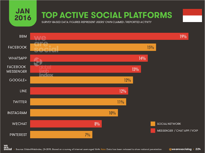 what biggest social network vietnam