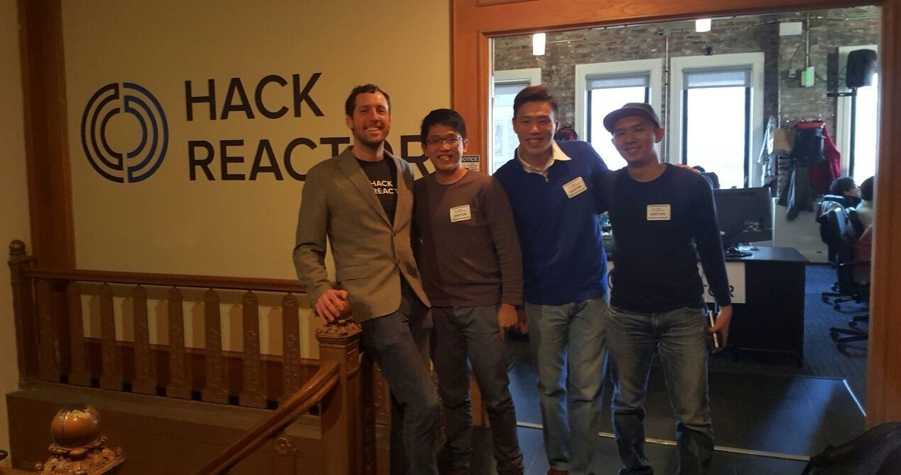 Meetup with Shawn Drost, co-founder of Hack Reactor