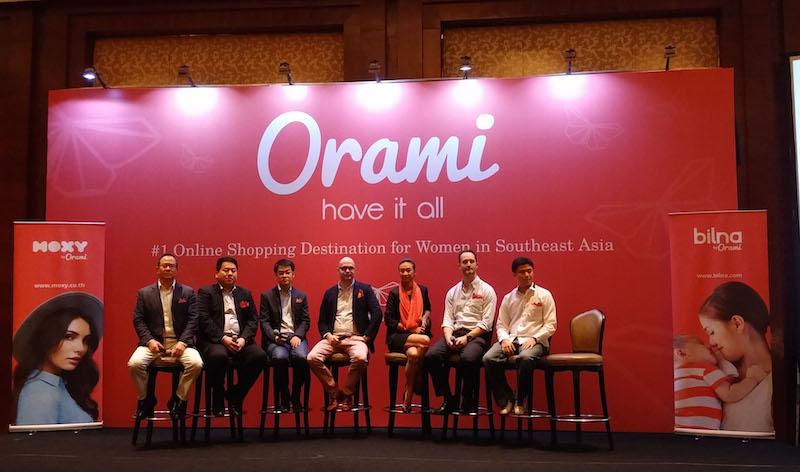 Orami-launch-event-team