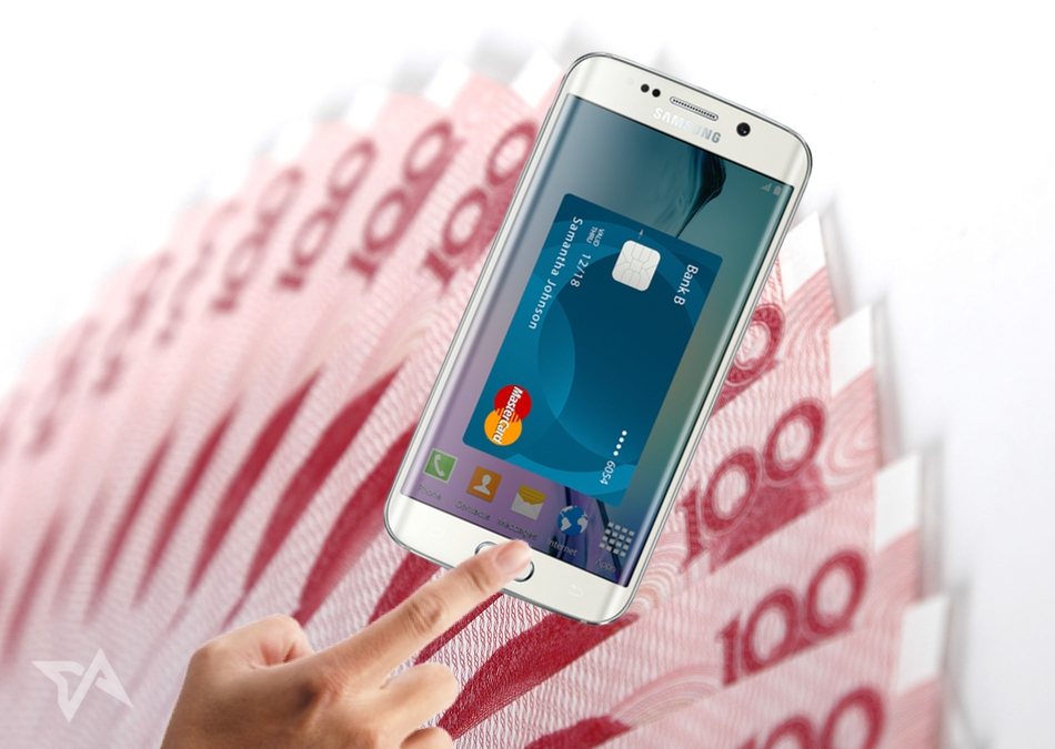 samsung pay launches in china. Black Bedroom Furniture Sets. Home Design Ideas