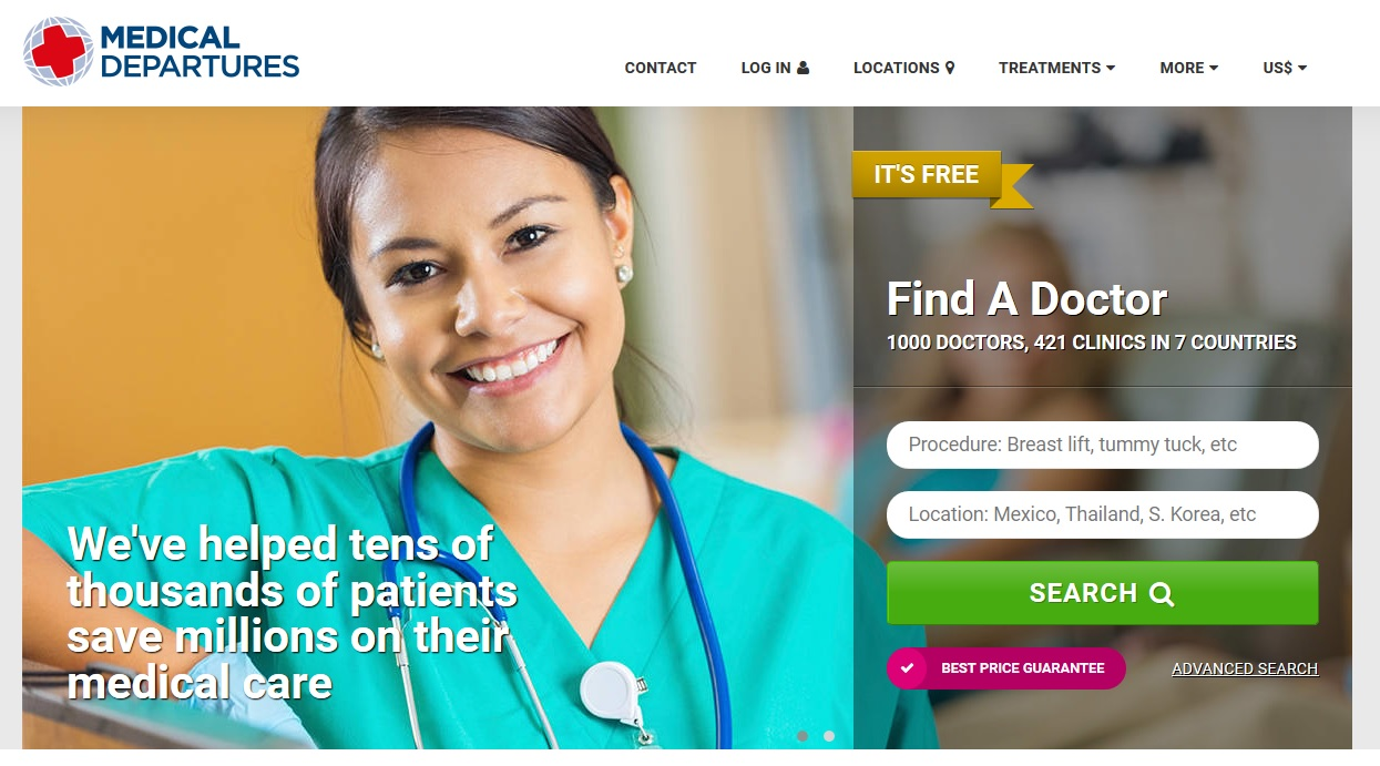 medical departures raises m series a to expand medical departures homepage