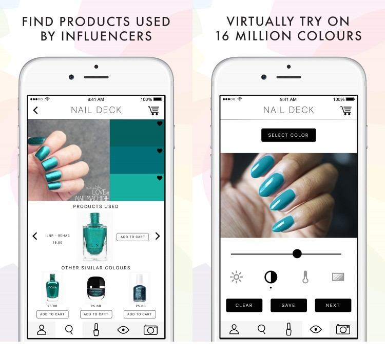 Nail Deck wants to be the ultimate nail art app for women.