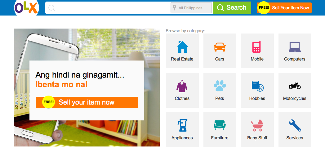 11 popular online shopping sites in the philippines for Online shopping for the home