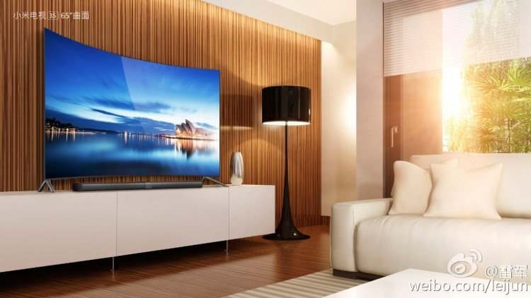 samsung curved tv in living room. the device in action. image credit: lei jun\u0027s weibo. samsung curved tv living room s